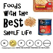 Foods with the best shelf life