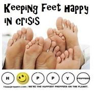 Keeping feet happy in crisis