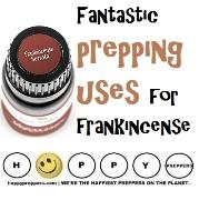 Frankincense prepping uses
