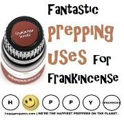 Frankincense prepping benefit and uses