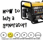 How to buy a survival generator