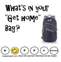 What's a Get home bag?  packing your Get Home Bag