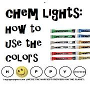 Glow sticks versus chem lights
