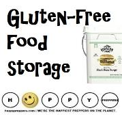 Gluten free food storage ( best of foods for your emergency kit)