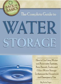 Water storage guide