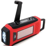 Communications two way radio hand crank
