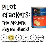 Pilot crackers ~ the moern day hardtack