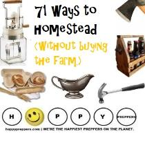 71 ways to homestead without buying the farm