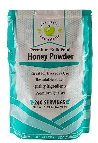 Honey Powder ~ premium bulk food by Legacy Foods