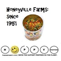 Honeyville Farms emergency food in #10 cans