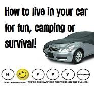 How to live in your car for fun, camping or survival