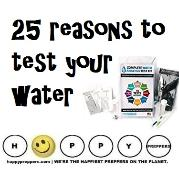 25 reasons to test your water