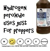 hydrogen peroxide uses - just for preppers