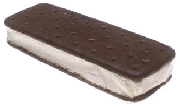 Kids like to try the Freeze dried Ice cream sandwich