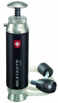 Katadyn water filter: the backpackers choice