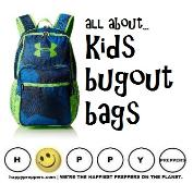 Kids bugout  bags