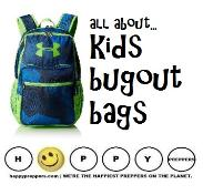 Kids bugout bag ideas