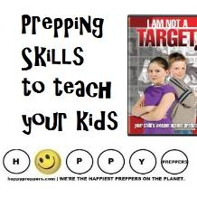Prepping skills to teach kids ~ survival skills your child should know