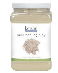 Korum Pure Healing clay - Calcium Bentonite