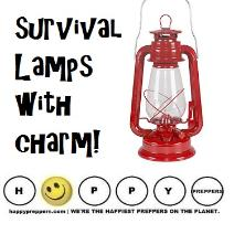 Off grid survival lamps with charm