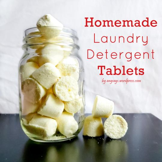 How to make laundry tables from zote soaps