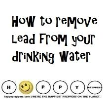 How to remove lead from your drinking water