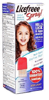 How to get rid of head lice with Licefreee spray