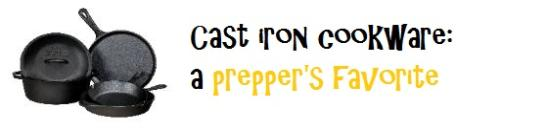 Lodge cast iron cooking: a prepper's favorite