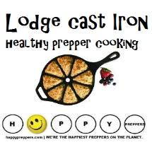 Lodge Cast Iron is healthy prepper cooking