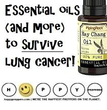 Essential Oils and more to survive lung cancer