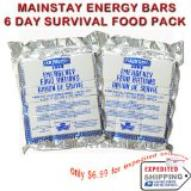 Mainstay Energy survival bars 3600 calories