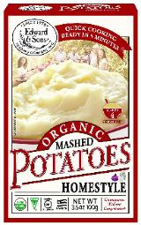 Edward & Sons Organic Mashed Potatoes