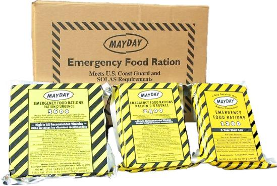 MayDay ration bars 3600 caoloris