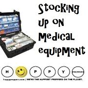 Stocking up on medical equipment