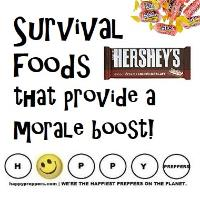 Survival Foods that provide a morale boost