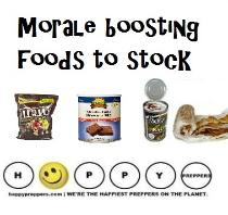 Morale boosting foods to stock