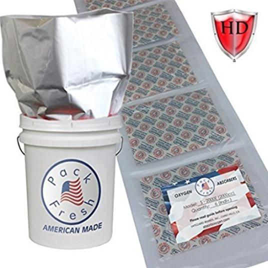 American made Mylar bags