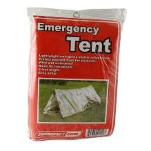 Mylar emergency tent