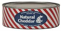WSU Natural Cheddar in can