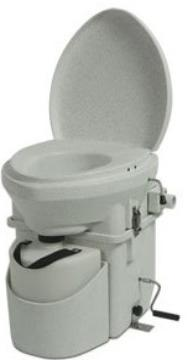 Nature head composting toilet