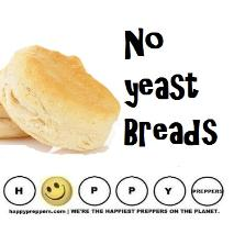 Baking no yeast breads: prepper skill