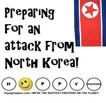 Preparing for an attack from North Korea