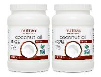 Nutiva two-pack coconut oil
