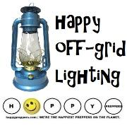 Hurricane lamps and happy off grid lighting