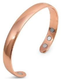 Healing copper bracelet with magnets
