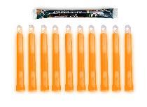 Lot Of 8-12 hour Orange Cyalume Lightsticks Prepper Doomsday Survival Camping