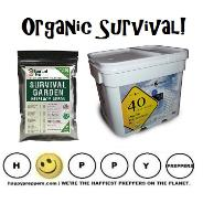 Organic prepping, survival and preparedness