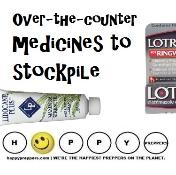 Over the counter medicines to stockpile