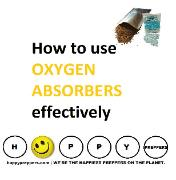 How to use oxygen absorbers effectively