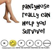 How pantyhose can help you survive